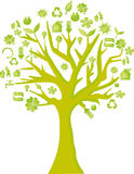 Green eco tree Stock Photography