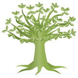 Green Eco Tree Illustration Stock Photography