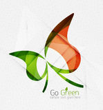 Green eco unusual background concept Royalty Free Stock Photos