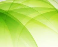 Green eco wave Stock Photo