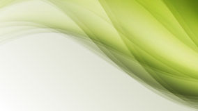 Green eco wave leaf creative lines abstract background. Illustration royalty free illustration