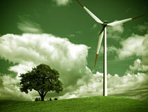 Green ecology royalty free stock image