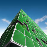 Green ecology architecture Stock Photography