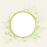 Green ecology banner Royalty Free Stock Image