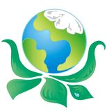Green Ecology Logo 1 Stock Images
