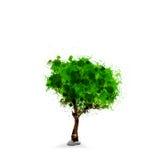 Green ecology tree Stock Photo