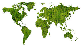 Green ecology in the world Stock Photos