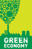 Green Economy royalty free illustration