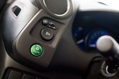 Green economy button Royalty Free Stock Images