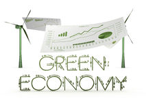 Green economy Stock Image