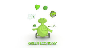 Green economy Royalty Free Stock Photography