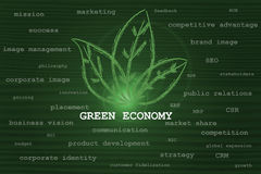 Green economy taking over other business concepts Stock Photo