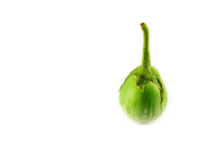Green eggplant Royalty Free Stock Images