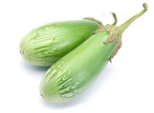 Green eggplant vegetable Royalty Free Stock Photo