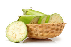 Green eggplant Royalty Free Stock Image