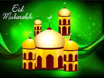Green eid background Royalty Free Stock Image