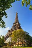 Green Eiffel tower Royalty Free Stock Photos