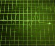 Green EKG Medical Background Royalty Free Stock Photography