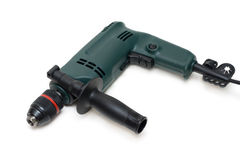 Green electric drill Stock Image