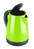Green Electric Kettle Stock Image