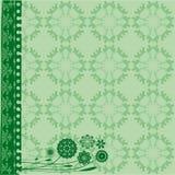 Green elegant background Stock Image