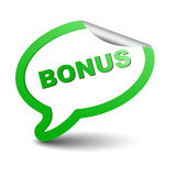 Green  element bubble bonus Stock Photo