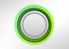 Green emblem Royalty Free Stock Photos