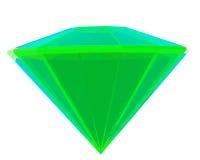 Green emerald Stock Photography