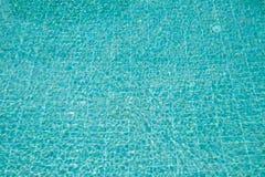 Green emerald pool water shine Stock Image