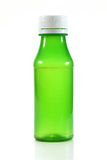 Green empty plastic bottle Stock Photography