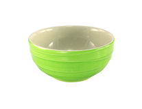 Green Empty Plate. Green isolated Empty Plate (with clipping path Royalty Free Stock Photo