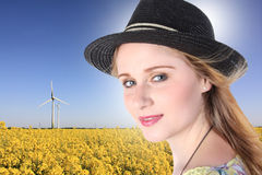 Green energies Royalty Free Stock Images