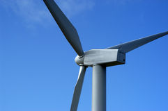 Green Energy. Close up of wind turbine Royalty Free Stock Photos