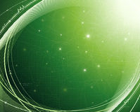Green energy. Abstract technology background energy saving related Royalty Free Stock Photos