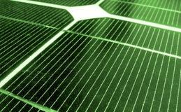 Green Energy. A closeup image of solar panels Stock Photo