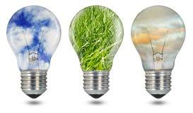 Green energy Stock Image
