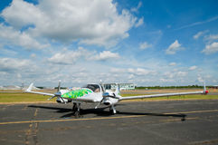 Green energy aircraft Royalty Free Stock Photography