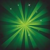 Green Energy Background Stock Image