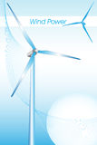 Green Energy - Brochure cover or Business card Royalty Free Stock Photos