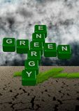 Green energy and climate Stock Images