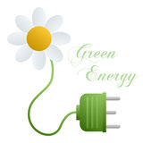 Green Energy Concept. Isolated on white background. Eps file available vector illustration