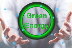 Concept of green energy royalty free stock photos