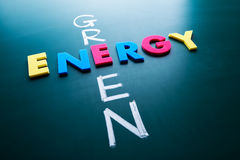 Green energy concept Stock Photos