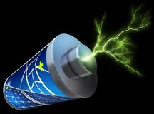 Green energy concept Royalty Free Stock Image