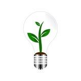 Green Energy Concept. EPS10 Vector Illustration Stock Photos