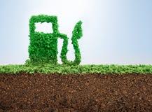 Green energy concept Stock Photo
