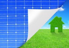 Green energy concept Royalty Free Stock Images