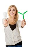 Green energy concept Royalty Free Stock Photo