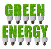 Green energy concepts Stock Images