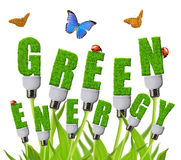 Green energy concepts Royalty Free Stock Images